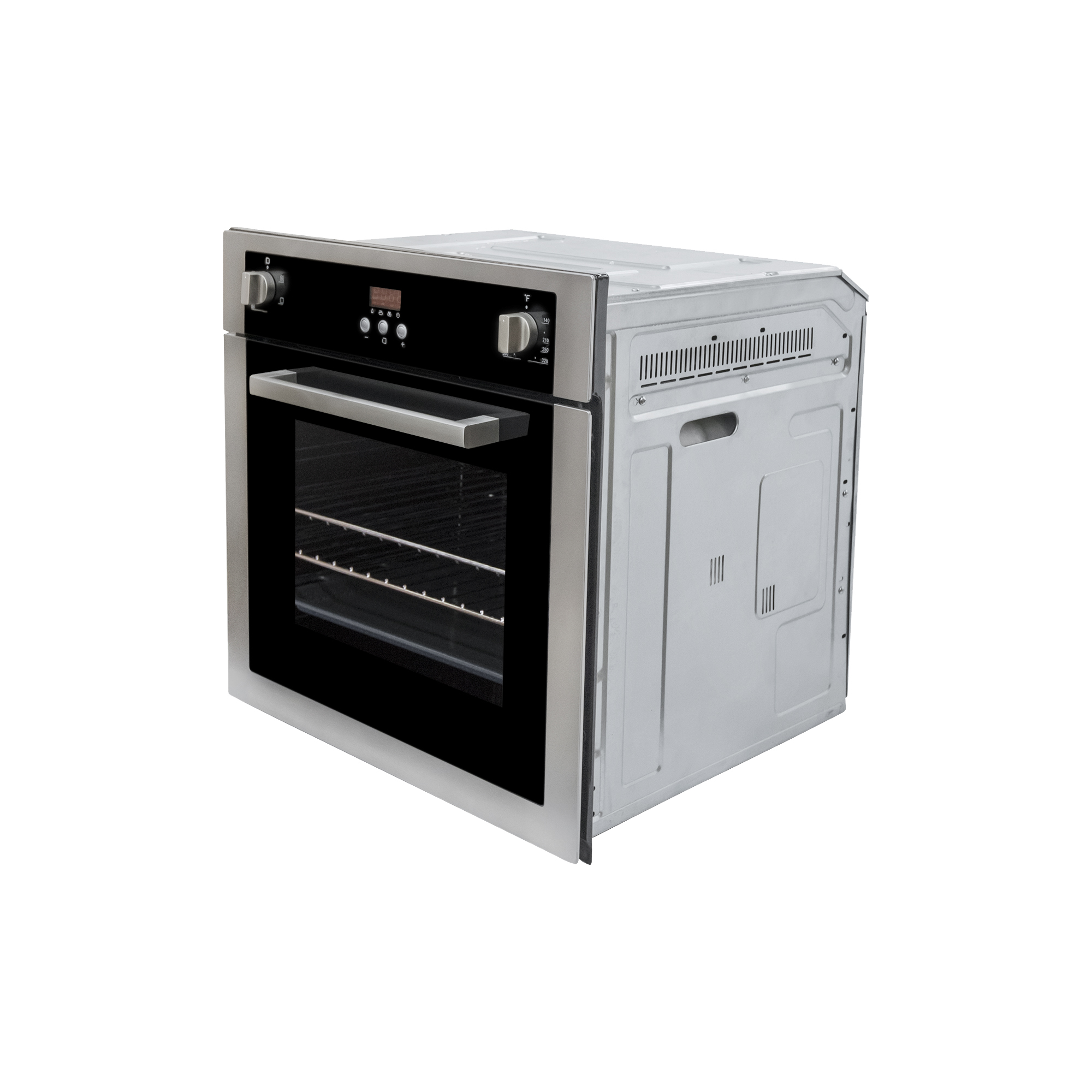 Cosmo 24 In 2 Cu Ft Single Electric Wall Oven With