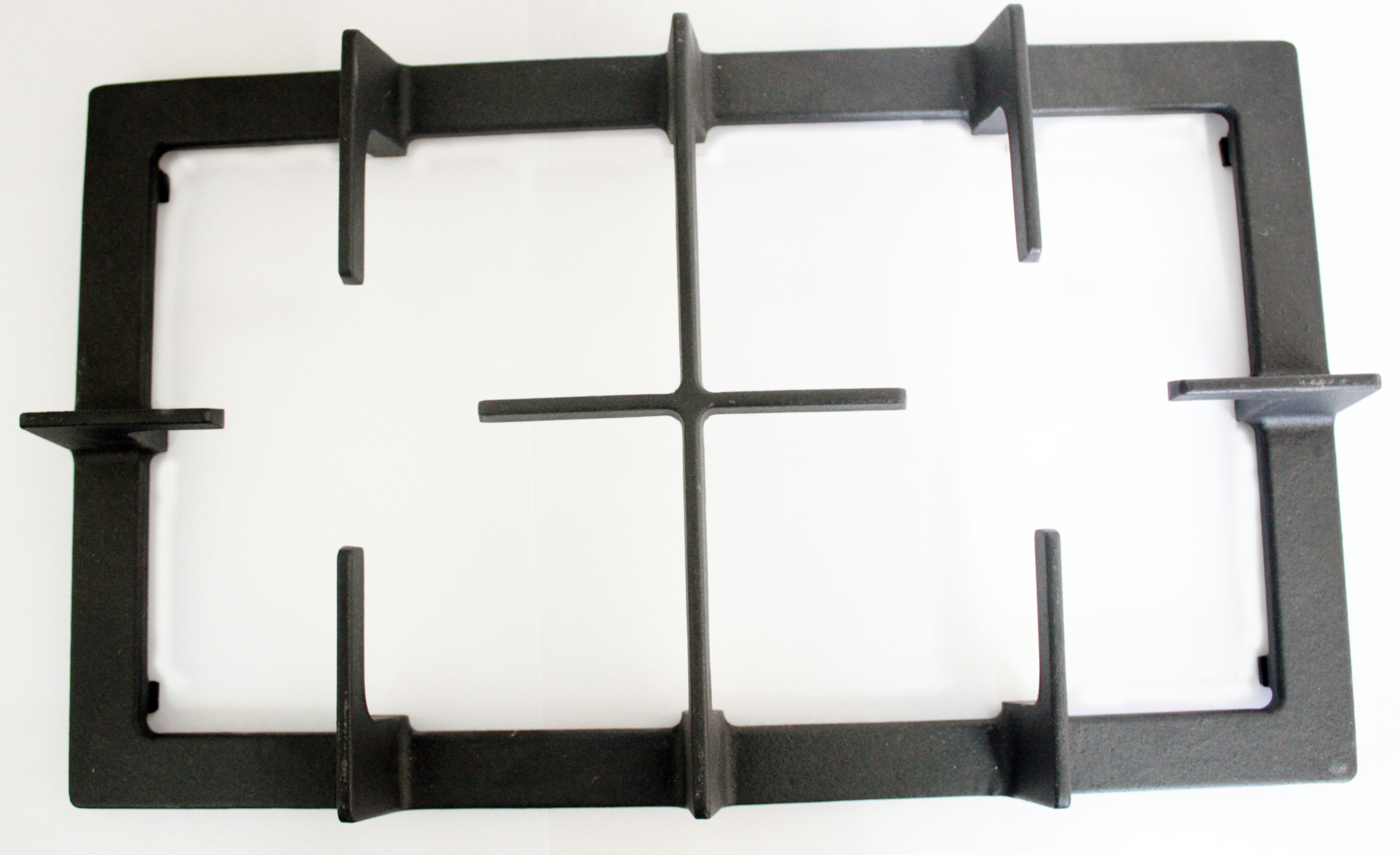 Large Cast Iron Cooktop Grate Double Burner