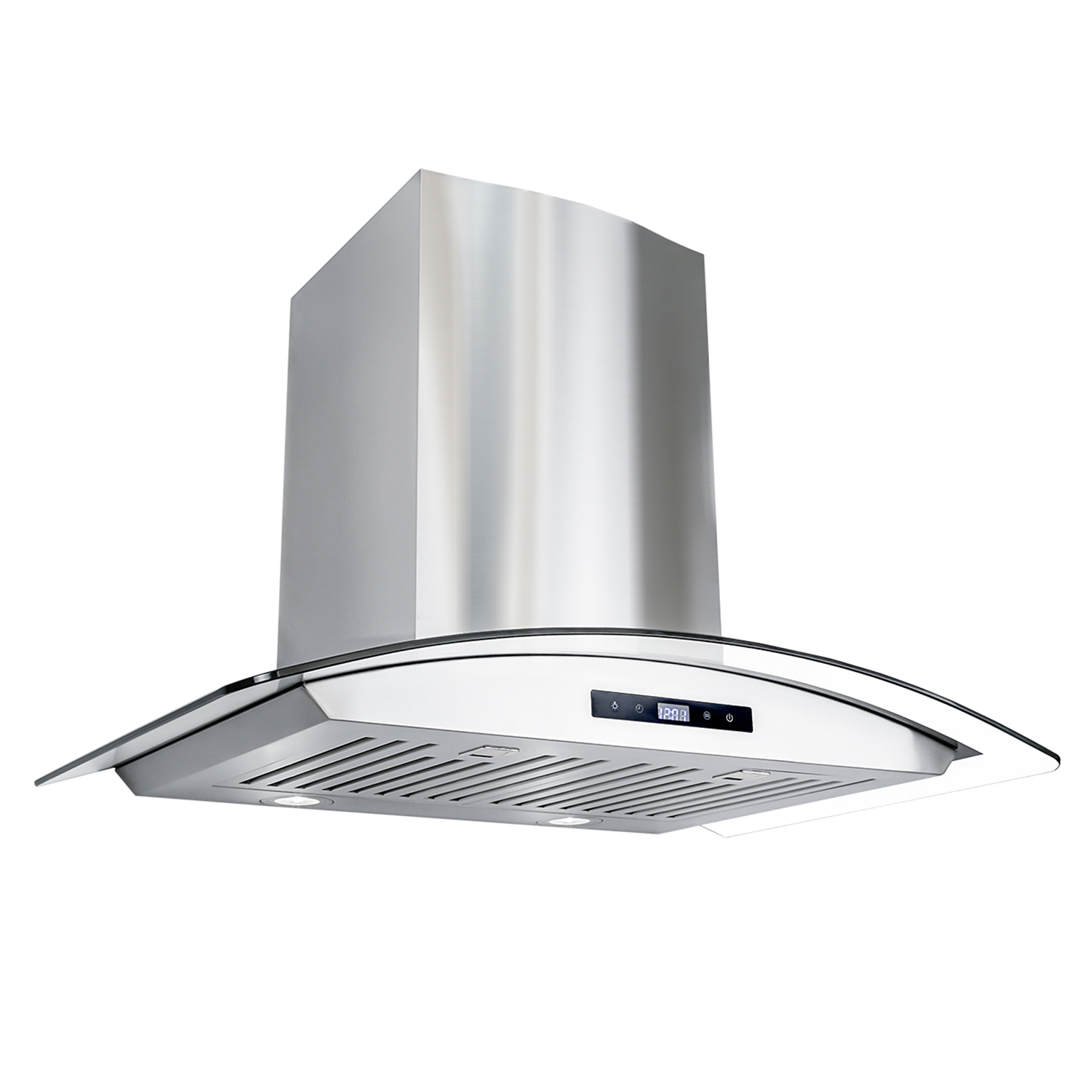 30 Range Hood ~ In wall mount range hood with touch controls cosmo