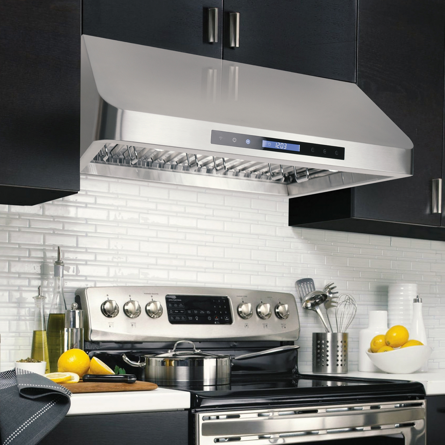 30 In Under Cabinet Range Hood Cosmo Appliances Cos Qs75