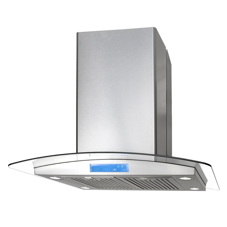 cosmo appliances 30 island range hood 668ics750. Black Bedroom Furniture Sets. Home Design Ideas