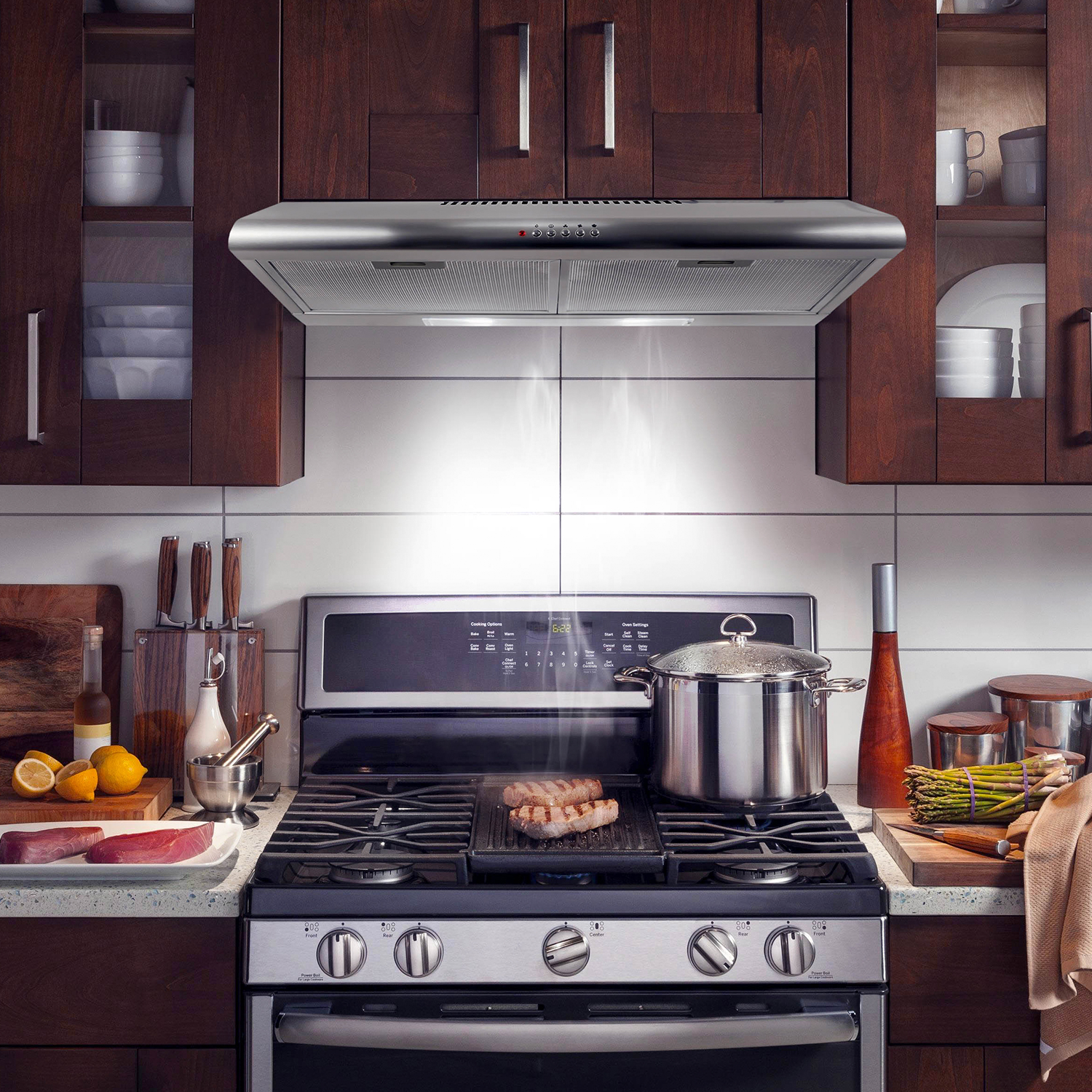 Under Cabinet Kitchen Tv Best Buy: 30 In. Under Cabinet Range Hood Cosmo Appliances (COS-5MU30