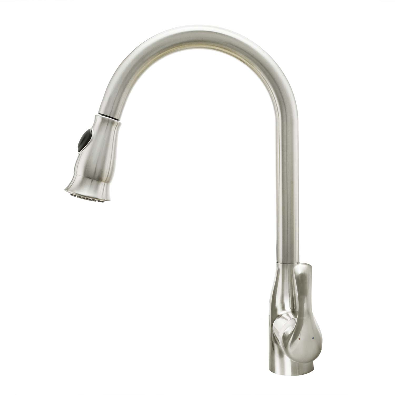 kitchen faucet brushed nickel cosmo kitchen faucets cos kf776ss brushed nickel 19486